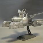地球連邦軍 ペガサス級強襲揚陸艦 ホワイトベース (1/2400)
