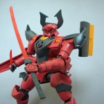 GNX-704T/AC アヘッド・サキガケ<ミスター・ブシドー専用機> (1/144 HG)
