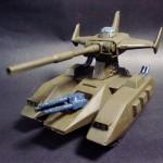 ジオン軍 主力戦車 マゼラアタック (1/144)