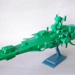 地球連邦軍 宇宙戦艦 マゼラン級 (1/1200)