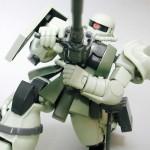 MS-06F/J 量産型ザク (1/144 HGUC)